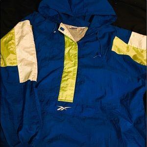 Vintage 90s Reebok Track Jacket 1/4 Zip sz XL